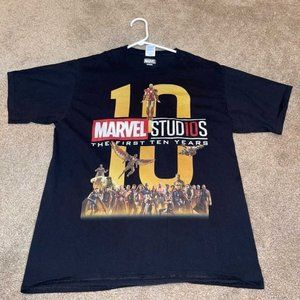 Marvel Studios The First Ten Years Graphic T-Shirt